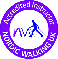 Nordic Walkig Acredited Instructors Logo