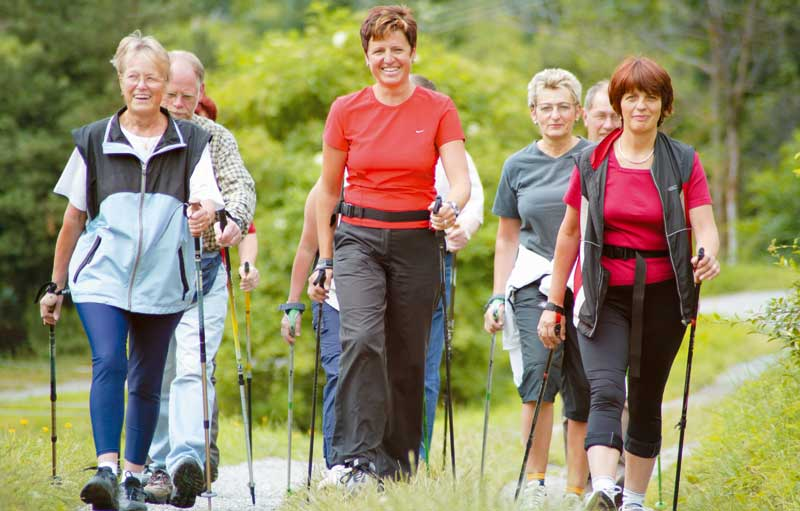 Nordic walking in Wiltshire